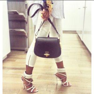 "0545c84f546 Monika Chiang Shoes - SALE! Monika Chiang ""Domina"" White Cuff Sandal"